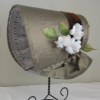 Ada Gray Bonnet Pattern