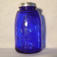 1858 Mason jar front