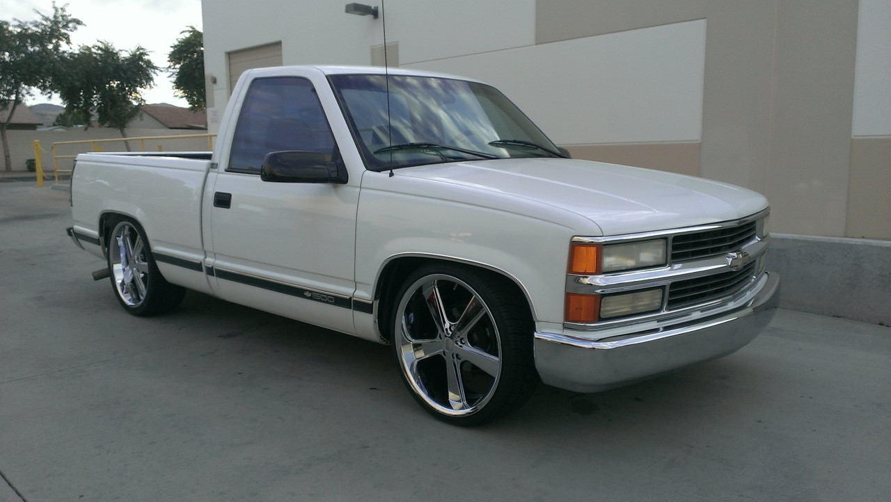 Chevy Silverado On 22s Autos Post