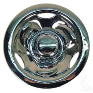 "Wheel Cover 10"" Deep Dish Chrome standard 8"" wheels"