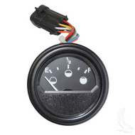 Universal State of Charge Meter, 48V Round, E-Z-Go RXV