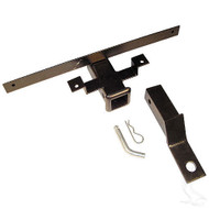 Bumper Hitch, Club Car Cargo Equipment easy installation