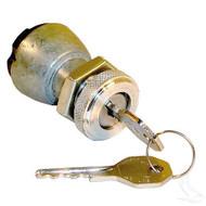 Golf Cart Ignition Key Switch, 2 Terminal, E-Z-Go 81-