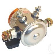 Solenoid, 12V 4 Terminal Copper/Short, E-Z-Go Marathon Gas 79-94
