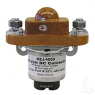 Solenoid, 400A 48V Universal Golf Cart Mounted solenoid