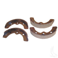 Brake Shoes, SET , E-Z-Go 82-86 1/2, Club Car 81-94, Yam 2-cycle Gas 78-81