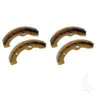 Brake Shoes, SET OF 4, E-Z-Go Medalist/TXT 97+, Workhorse 96+, Yamaha G2-G22 94-06
