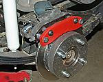 Rear Disc Brake Kit, Club Car DS, Yamaha Direct replacement