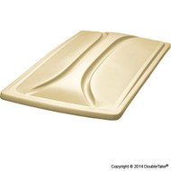 """Doubletake 80"""" Long Track Color Matched Golf Cart Top"""