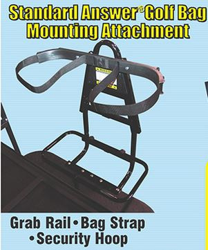 Standard Answer Golf Bag/safety bar rear seat attachment