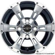 "DoubleTake 12"" Wicked 57 Series Wheel Machined Black"