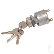 Key Switch, Universal E-Z-Go, 2 Terminal with Mixed Key Codes