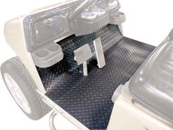 EZ-GO TXT 01+ Diamond Plate Black Floor Cover