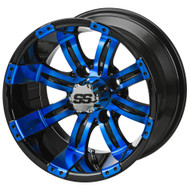 LSC Casino SS 12X7 Black/Blue 3:4 Offset