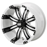 LSC Casino SS 12X7 White/Black 3:4 Offset