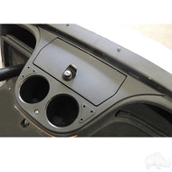 RHOX Dash Compartment, Black, Yamaha Drive