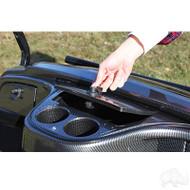RHOX Dash Compartment, Carbon Fiber, Yamaha Drive