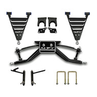 "MJFX Club Car DS 6"" HD Lift Kit 84- 2000.5 w/ Steel Dust Caps"
