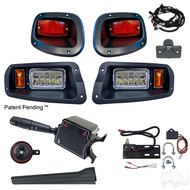Factory Style  Light Kit, E-Z-Go TXT 14+ (Deluxe Switch, Plunger Brake Switch)