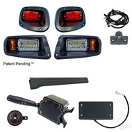 Factory Style  Light Kit, E-Z-Go TXT 14+ (Deluxe Switch, OE Style Brake Switch)