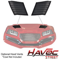 Madjax Havoc Series Black Hood Vents Set of 2