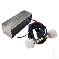 Voltage Reducer, 36V-48V to 30A, Club Car Precedent 08.5+