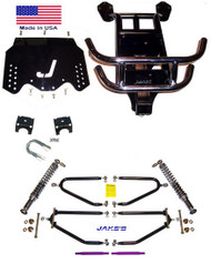 "Jakes EZGO 4""-8"" LIFT KIT 1994-2001 1/2 LONG TRAVEL ELECTRIC"