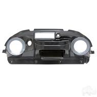 Dash, Deluxe with Radio/Speaker Cutout, Carbon Fiber, Club Car Precedent