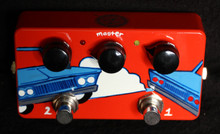 ZVEX SUPER DUPER 2 IN 1 HAND PAINTED SN I174 NAMM 2014 edition 5 of 5