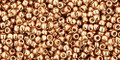 Toho Beads 15/0 Rounds Permanent Finish Galvanized Rose Gold