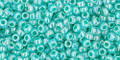 Toho Seed Beads 11/0 Round Ceylon Light Sea Green 8 gram tube