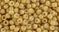 Toho Seed Beads 8/0 Round #145 Opaque Lustered Dark Beige 50g