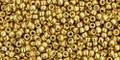 Toho Beads 15/0 Rounds #17 Permanent Finish Galvanized Starlight 50g