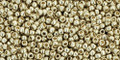 Toho Beads 15/0 Rounds #18 Permanent Finish Galvanized Aluminum 100g
