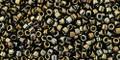 Toho Seed Beads #1 Treasure #83 Metallic Iris Brown 50 gram
