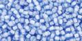 Toho Seed Beads 11/0 Round #400 Light Sapphire White Lined 20 gram