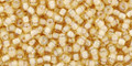 Toho Seed Beads 11/0 Round #401 Jonquil White Lined 50 gram