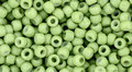 Toho Seed Beads 8/0 Round #181 Hybrid Color Trends Green Flash 50 gram