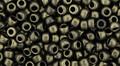 Toho Seed Beads 8/0 Round #189 Hybrid Metallic Suede Gold 50 gram