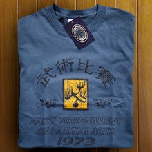 Enter the Dragon T Shirt (Indigo)