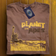 Planet of the Apes T Shirt (Brown)