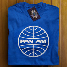 Pan Am (Blue) T Shirt