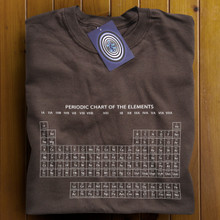 Periodic Table (Brown) T Shirt