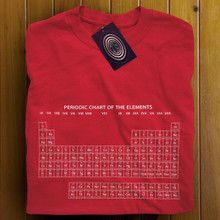 Periodic Table (Red) T Shirt
