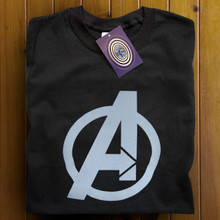 The Avengers (Black) T Shirt