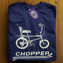 Chopper Bike (Navy) T Shirt