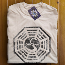 Dharma Initiative (Natural) T Shirt