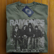 The Ramones (Green) T Shirt