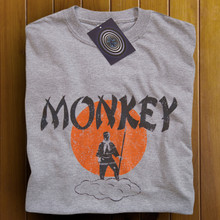 Monkey T Shirt (Grey)