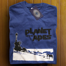 Planet of the Apes T Shirt (Blue)